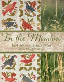 Blackbird In the  Meadow (Quilting)