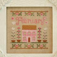 Cottage Februray Cottage Series Chart only