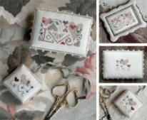 DT A Little Love Pinkeep & Scissors Fob