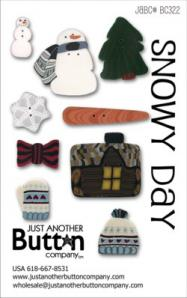 JABC Button Card Snowy Day