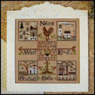 LHN Four Corners Sampler All Part With Threads
