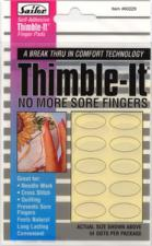 Colonial Needle 60229 Thimble-It Self-Adhesive Finger Pads