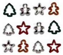 Dress it up JBT 2903  Mini Cookie Cutters #2 pack (16 pieces)