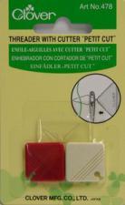 Clover 478CV Petit Cut Needle Threader with Cutter