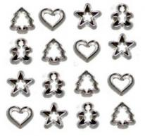 Dress it up JBT4253 Mini Cookie Cutters pack (16 pieces)