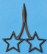 Kelmscott star scissors.jpg