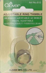 Clover Metal Ring Thimble 610 CV