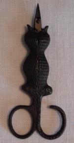 Kelmscott  Cat  Snips Scissors