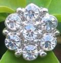 Crystal Rhinestone 22 mm CR 68 With Shank (1 piece