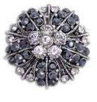 Crystal Rhinestone 35mm CR 41 With Shank (1 piece)