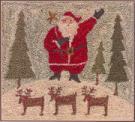 With Thy N & T Santa Farm (Punch Needle Design)