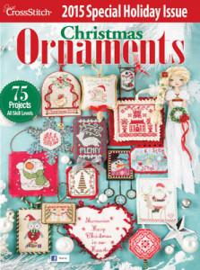 2015 Just Cross Stitch Ornament Issue