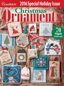 Just Cross Stitch 2016 Annual Christmas Ornament Issue