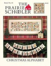 prairie schooler christmas alphabet