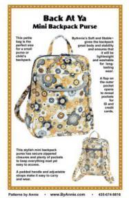 Annie Unrein PBA226 Mini Backpack Purse