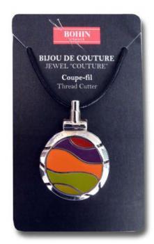 Bohin  98308 Jewel Couture Thread Cutter