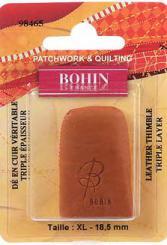 Bohin 98465 Leather Thimble Extra Large