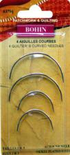 Bohin 83794 Quilter's Curved Between/Quilting Needles (4 needles)