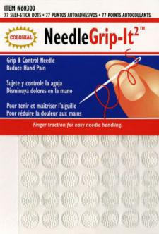 Colonial  Needle 60300 Nedle and Improved Grip It Dot