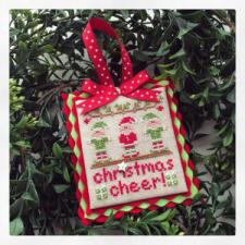 Cottage 2014 Ornament Christmas Cheer
