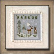 Cottage Frosty Forest #8 Snowy Reindeer