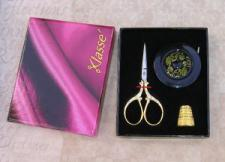 Special Klasse Scissors set with Thimble and Measuring tape