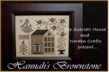 Scarlett House 2014 Limited Edition Hannah's Brownstone Kit