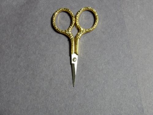 3 1/2 Inch Gold Scissors